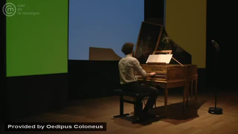Bach_ Prelude and fugue for harpsichord in A minor, BWV 895 _ Jean Rondeau