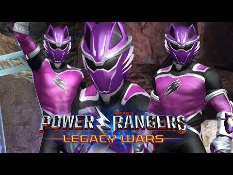 Wolf Ranger in Power Rangers Legacy Wars First Look Power Rangers Jungle Fury Superheroes Game