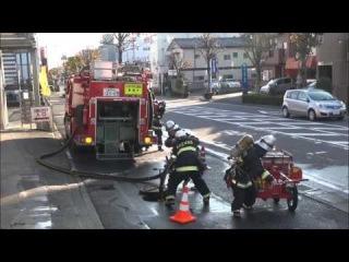 Тренировки  Пожарных по боевомцу развертыванию 1