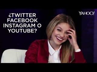 Karol Sevilla para Yahoo en Español