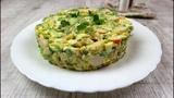 Салат с крабовыми палочками и кукурузой. Рецепт нежного салата