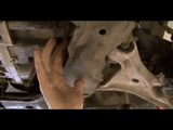 How to change a Control arm on a Volvo V70