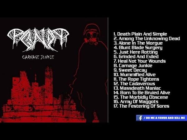 PAGANIZER - Carnage Junkie [Full-length Album]
