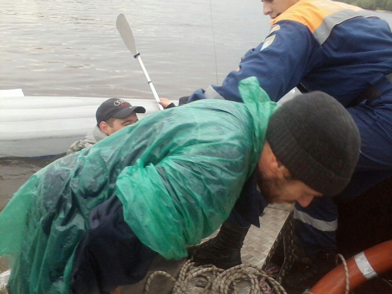 Тройное спасение байдарочников в Ростовской области