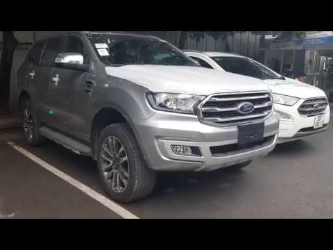 Ford Everest 2019 Màu Bạc Bản 2 Cầu Động Cơ Bi Turbo Hộp Số Tự Động 10 Cấp