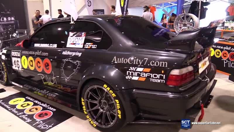 BMW E36 M3 GTR Race Pilot - Exterior Walkaround Engine - 2016 Tuning Show Sofi