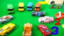 The meeting of Tayo and McQueen Car 3 toy videos for kids Amazing Toys