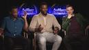 Себастиан Стэн, Энтони Маки и Уинстон Дьюк выясняют, у кого самые роскошные бедра (русские субтитры)