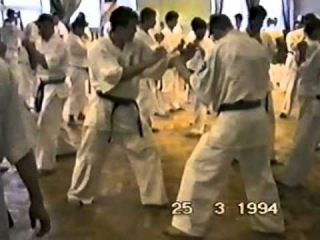 Семинар Ника Да Косты в Рузе - Кyokushin karate training kumite