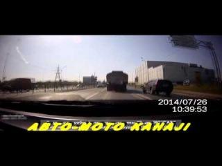 Супер Подборка жестких аварий Июля 2014 № 14