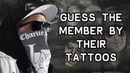 Guess The Member By Their Tattoos |Challenge| [Hollywood Undead]