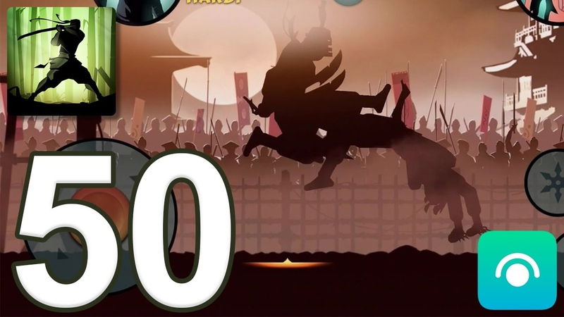 Shadow Fight 2 - Gameplay Walkthrough Part 50 - Interlude: Act 1 (iOS, Android)