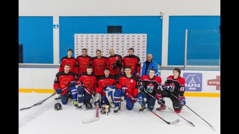 Закрытие хоккейного сезона 2017- 2018 г в Сеченовском муниципальном районе. В копилке СЕРЕБРО.