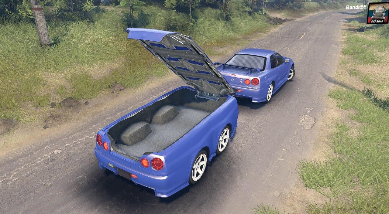 SPIN TIRES скачать мод Nissan Skyline TpCUI0DP_EE