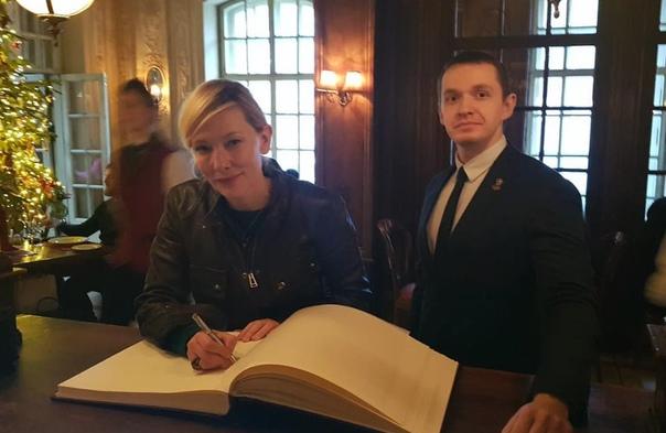 Кейт Бланшетт в Москве