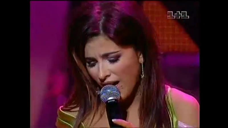 Ани Лорак - Don't talk about love Слова благодарности (Viva! Самые красивые люди Украины 2005, март 2006)