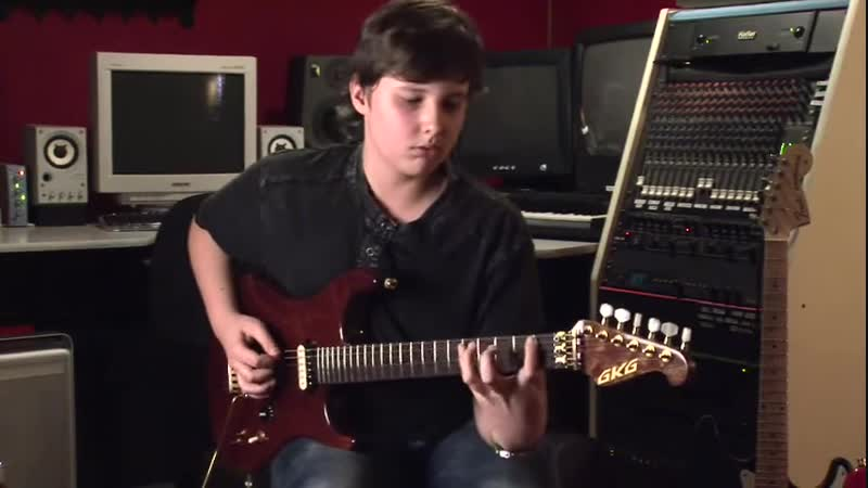 Incredible 14 year old shredder on guitar- Anton Oparin -And Now