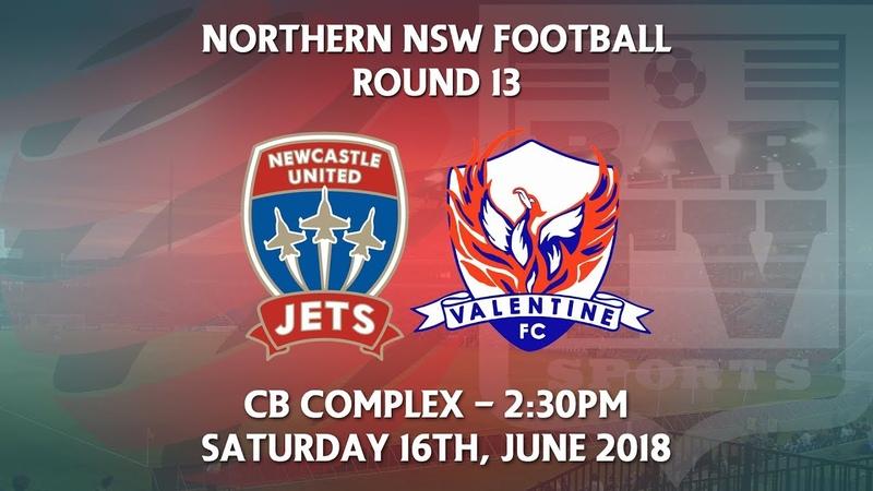 2018 NNSWF NPL Round 13 - Newcastle Jets Academy v Valentine Phoenix FC