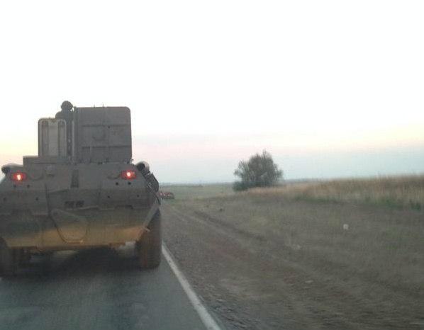 Ростовские пограничники объяснили сообщения западных СМИ о российских БТР на границе с Украиной