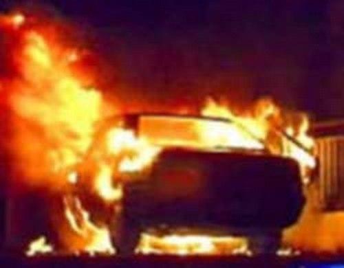 Вице-спикеру тульской думы сожгли машину