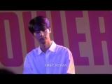 hakyeon - the rain, shibuya tower records talk show event