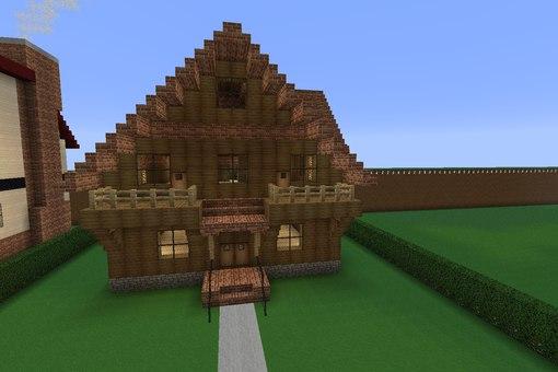 постройки в minecraft