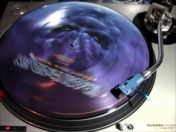 Iron Maiden The Wicker Man on Vinyl Picture Disc
