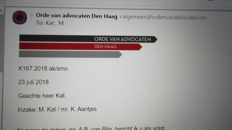 Update Micha-claim tuchtklacht K. Aantjes