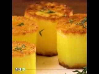 Готовим обычную картошку как в ресторане! 3 оригинальных супер-рецепта от шеф-поваров.