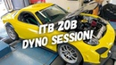 3 ROTOR DYNO WITH ITBs !! SOUNDGASM