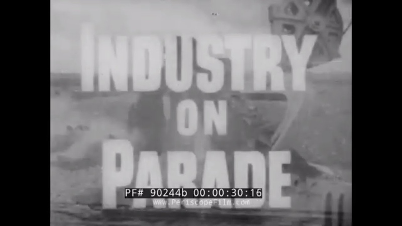 1950s INDUSTRY ON PARADE SOYBEAN CHICKEN PRODUCTION APPLE PEAR CULTIVATION 90244b