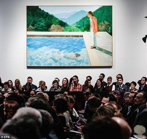 Художник Дэвид Хокни побил мировой рекорд, продав свое полотно при жизни за 90 млн. долларов