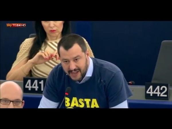 Salvinis Rede im EU Parlament - Ehrenmann