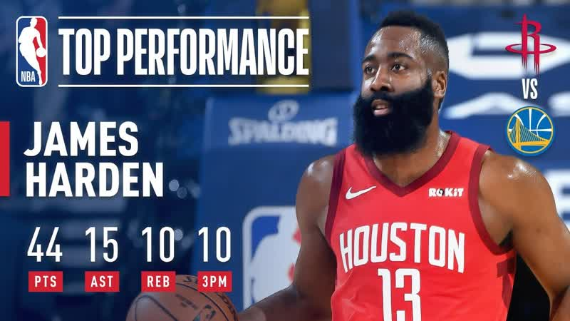 James Harden's CLUTCH Performance In The Bay | January 3, 2019