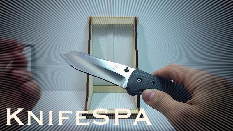 Эксклюзивный фолдер от Greg Lightfoot доработан Ножевая мастерская Knife SPA