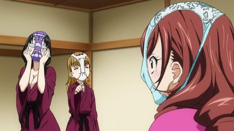 [MiraiDuB] Безумные байки девичьей общаги Gokujo. Gokurakuin Joshikou Ryou Monogatari - Spechial (MVO)