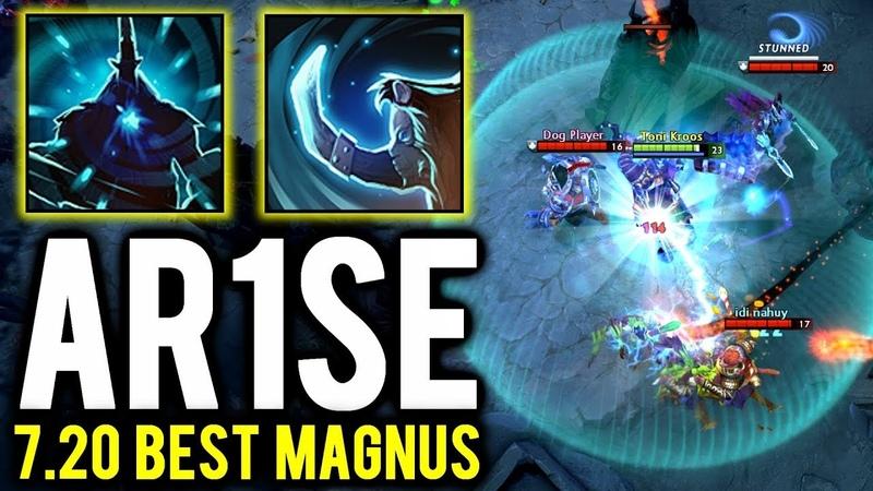The Best Magnus is Back - Ar1se Insane RP 7.20 Magnus Gameplay