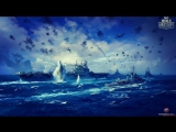 World of Warships.Northern convoys, Pearl Harbor, Battle of the Pacific ocean.Trailer.
