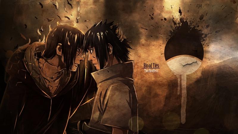 AMV - Black Rose [Sasuke and Itachi Uchiha] ᴬᴵᴺᴵᴼ