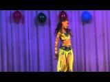 Индийский танец.Солистка эстрадной группы Лила(Leela).Shradha Pandit &ampSalim Merchant