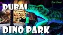 Дубай. Приключения в Парке динозавров. Dino Park. Dubai.