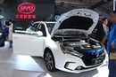 2016, 2017 BYD Qin EV300 launched on the Chinese car market