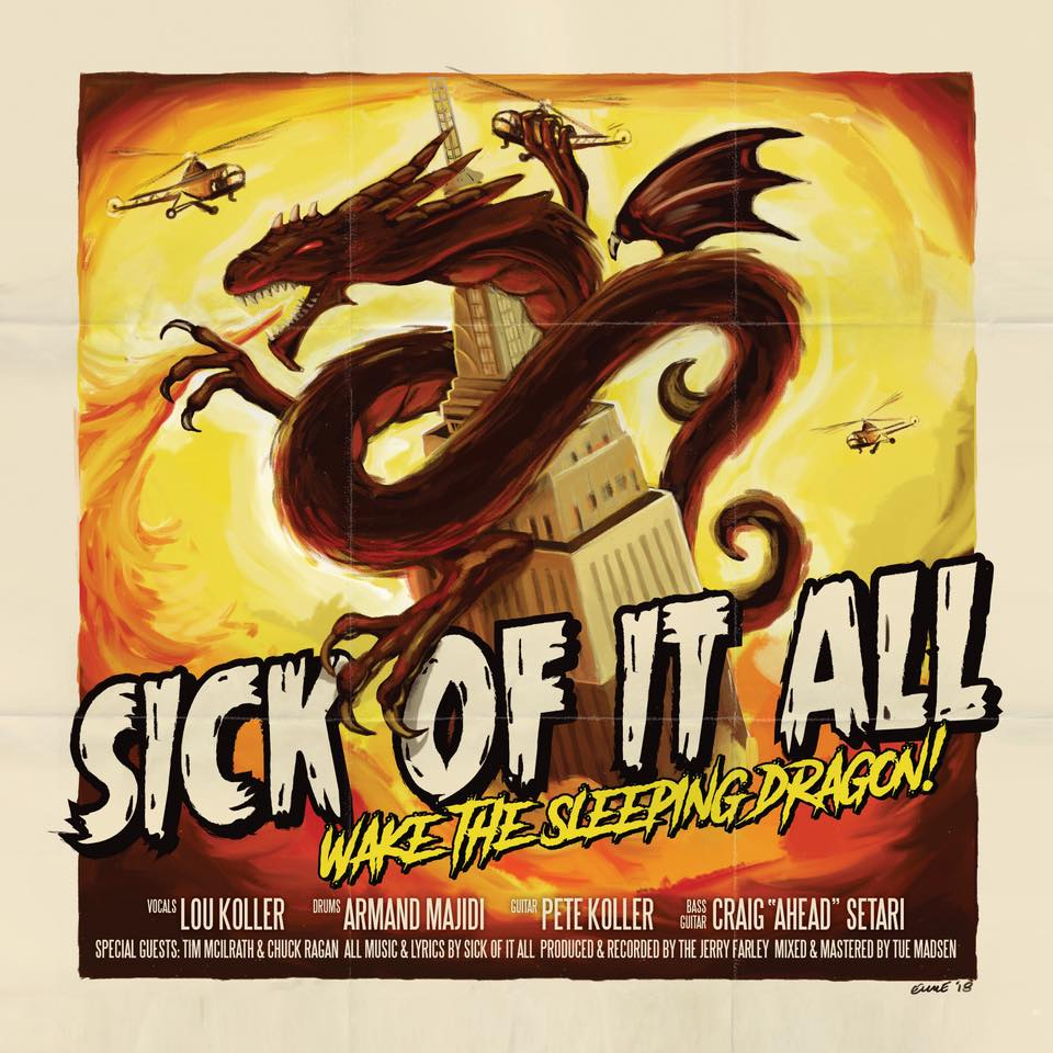 Sick Of It All - Wake The Sleeping Dragon! (2018)