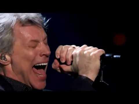 Bon Jovi Livin' on a Prayer at Rock Roll Hall of Fame 2018