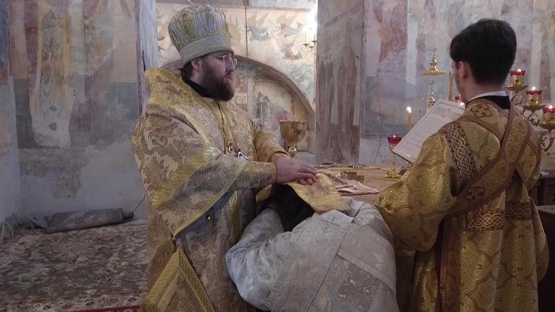 Рукоположение иеродиакона Мартиниана в Софийском соборе Вологды