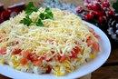 Вкуснейший салатик с крабовыми палочками к новогоднему столу!