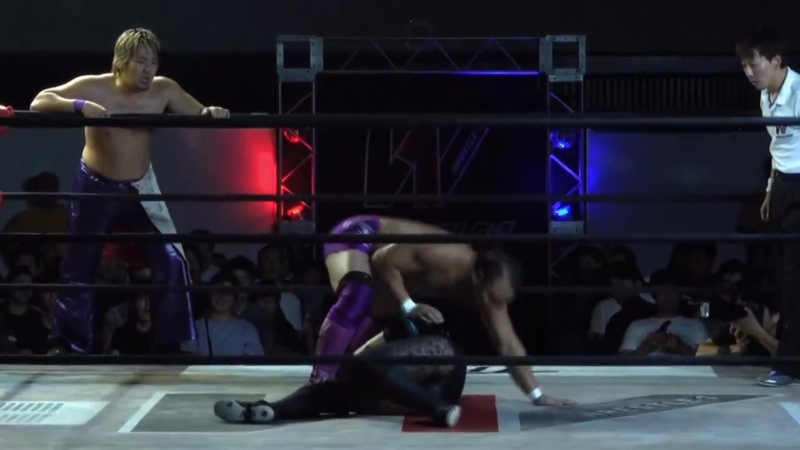Koji Doi, Masayuki Kono, Ryuji Hijikata vs. ASUKA, Shuji Kondo, Takuya Sugawara (WRESTLE-1 - Pro-Wrestling Love 2018 in Osaka)