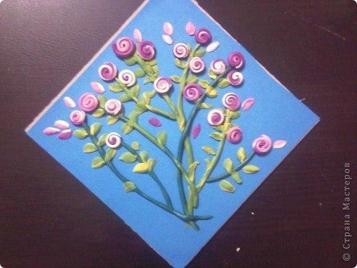 Поделки из пластилина и картона и цветной бумаги 35