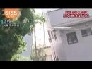 北海道震度6強地震 道路陥没・液状化が相次ぐ札幌市清田区の様子 午前6時50分過ぎ 18 09 06 07 25
