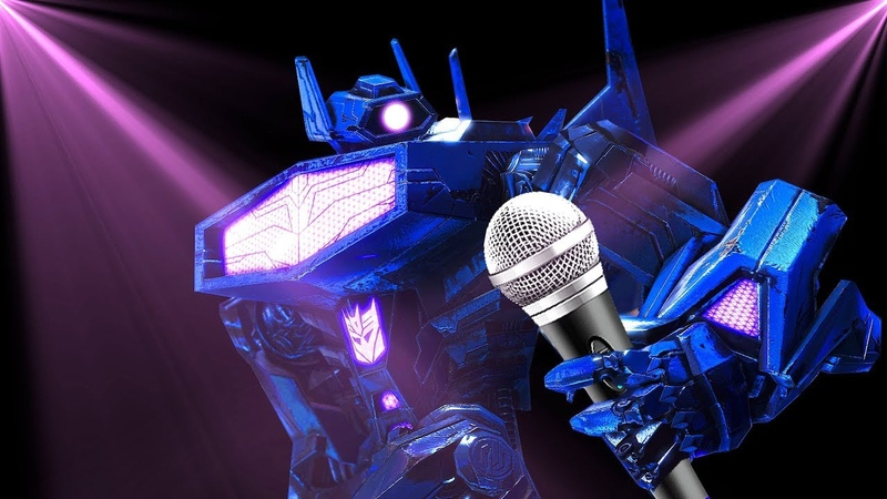 Transformers Shockwave Sings Youre Welcome - Moana (4th of July Special)